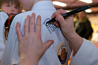 Handtekening Kim